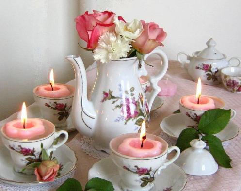 1000 images about tea party theme event on pinterest for Tea party centerpieces